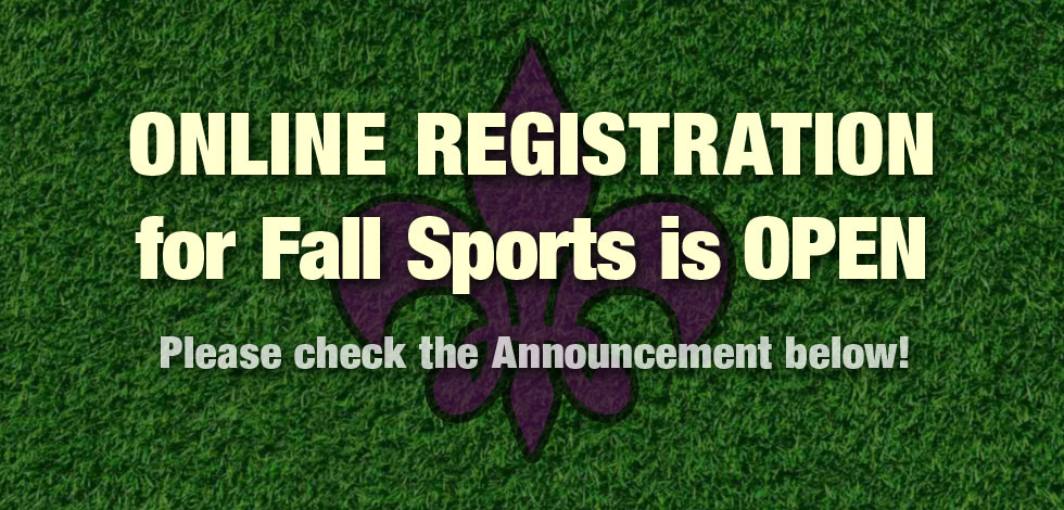 mainpic Fall Sports Registration 2019